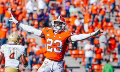 Andrew Booth Jr.-Clemson Tigers-Football