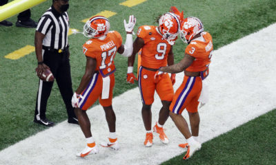 Clemson-Tigers-football-Travis-Etienne-Cornell-Powell-Amari-Rodgers